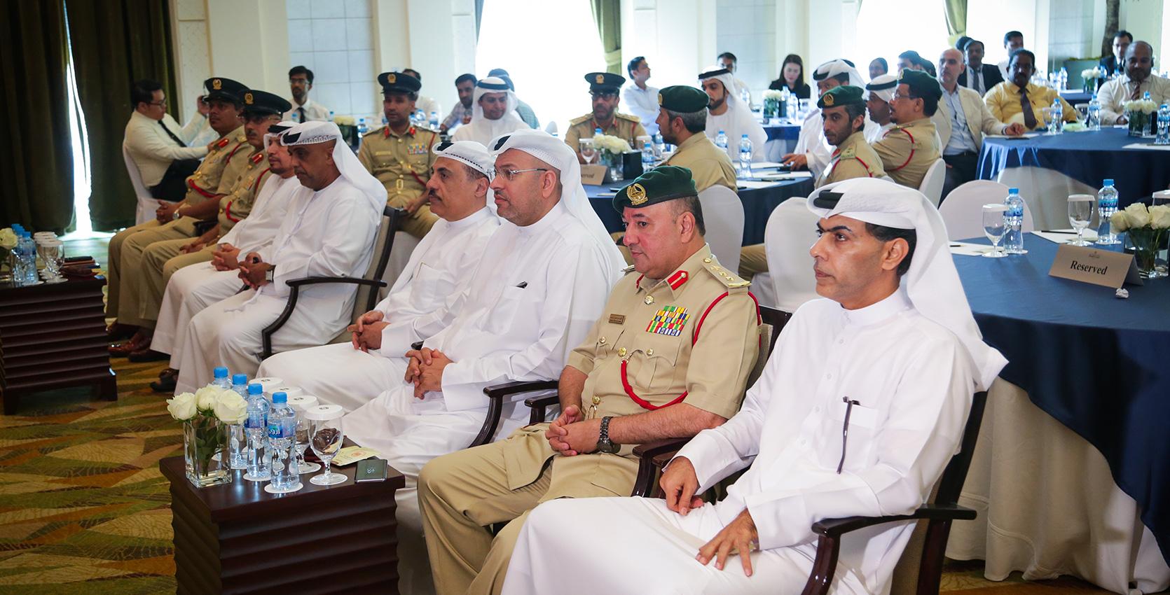 Awareness training by Dubai Police'17