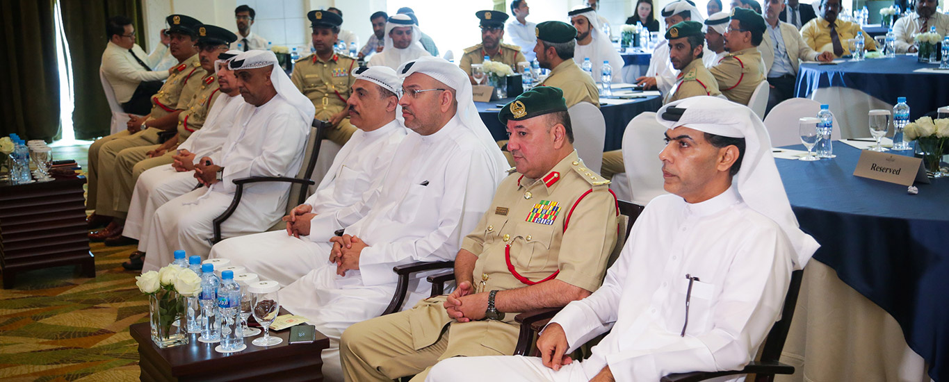 Awareness training by Dubai Police'17