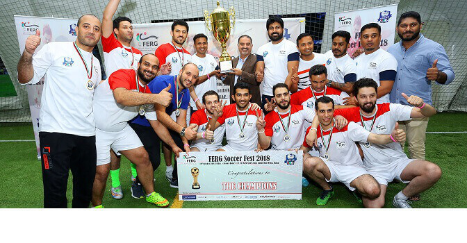 FERG ORGANIZES FOOTBALL TOURNAMENT FOR 16 EXCHANGE HOUSES IN THE UAE